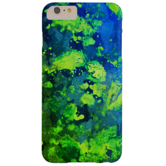 Neon Green Haze Barely There iPhone 6 Plus Case