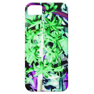 Neon Green Hyacinth iPhone 5 Covers