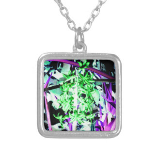 Neon Green Hyacinth Custom Necklace