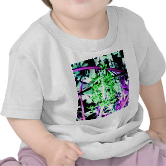 Neon Green Hyacinth Tshirt