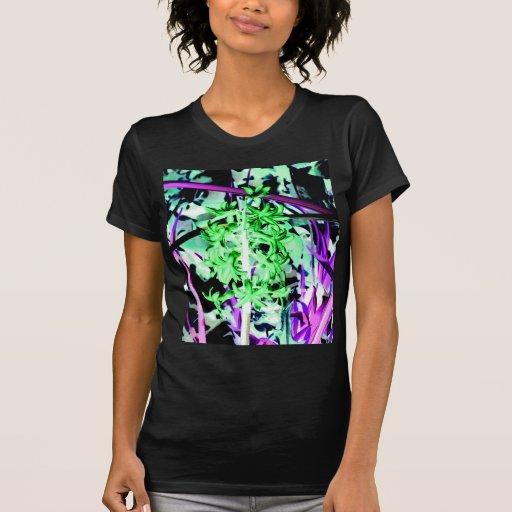 Neon Green Hyacinth T Shirt