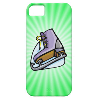 Neon Green Ice Skate. iPhone 5 Cover