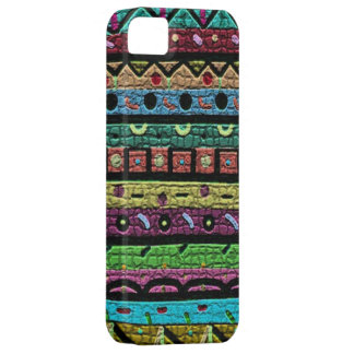 Neon Green Mosaic iPhone 5 Cases