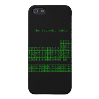 Neon Green Periodic Table iPhone 5 Case
