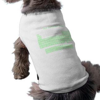 Neon Green Periodic Table Shirt