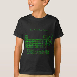 Neon Green Periodic Table T-Shirt