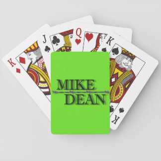 Neon Green Playing Cards