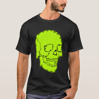 Neon Green Skull Shirt