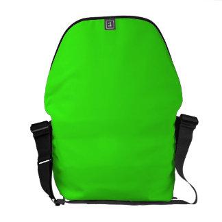NEON GREEN (solid color) ~ Messenger Bag