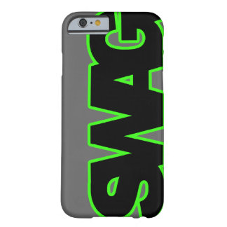 Neon Green SWAG Barely There iPhone 6 Case