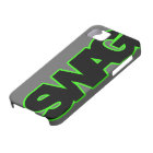 Neon Green SWAG iPhone 5 Cover