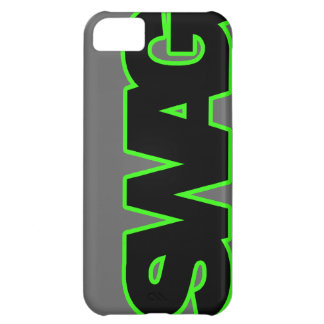 Neon Green SWAG iPhone 5C Case