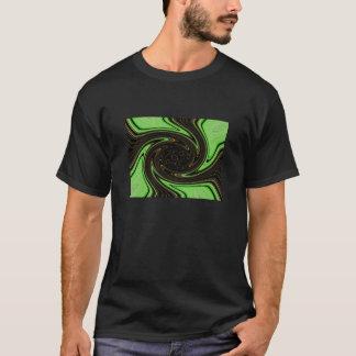 Neon Green Swirl T-Shirt