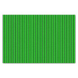Neon Green with Purple & Black Stripes Tissue Paper