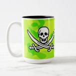 Neon Green Yellow Camo; Pirate