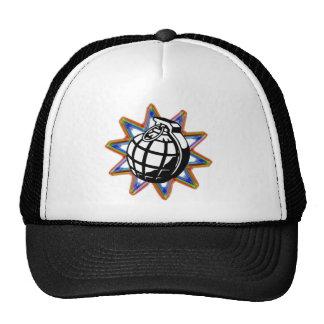 Neon Grenade Hat