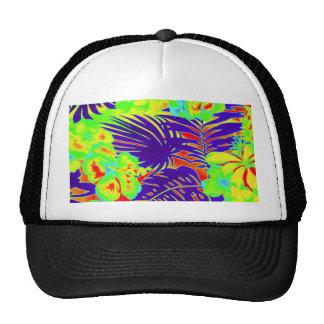Neon Hawaii Mesh Hat