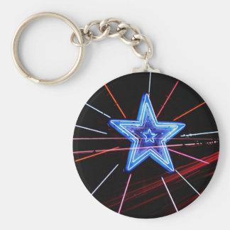 Neon Highway Star Key Chain