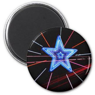 Neon Highway Star Magnets