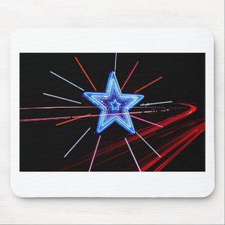 Neon Highway Star Mousepad