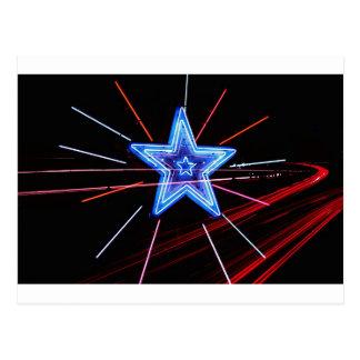 Neon Highway Star Postcard
