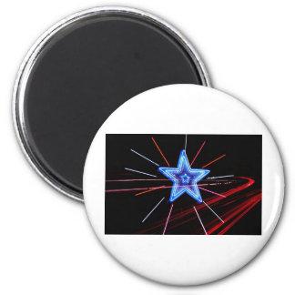 Neon Highway Star Refrigerator Magnets