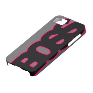 Neon Hot Pink BOSS iPhone 5 Covers