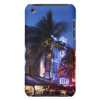 Neon hotel at night, Ocean Drive, South Miami Beac iPod Touch Case