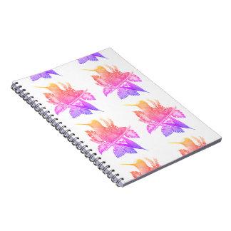 Neon Hummingbird Notebook