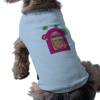 Neon Jukebox Sleeveless Dog Shirt