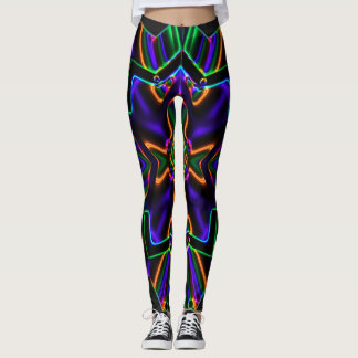 Neon Kaleidescope Leggings