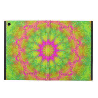 Neon Kaleidoscope iPad Air Case
