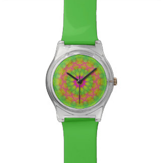 Neon Kaleidoscope Watch