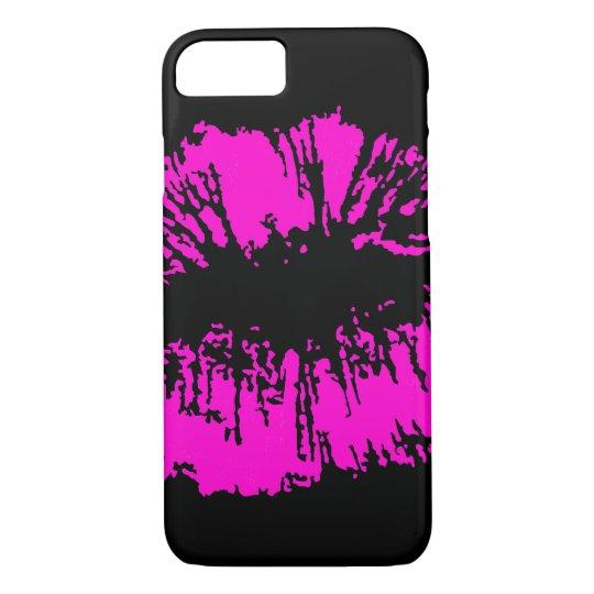 Neon Kiss iPhone 7 Case