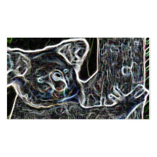 Neon Koala Business Card