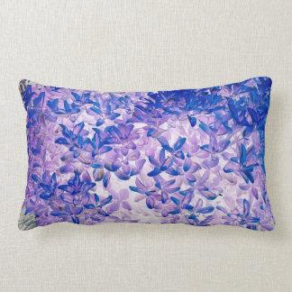 Neon leaves lumbar cushion