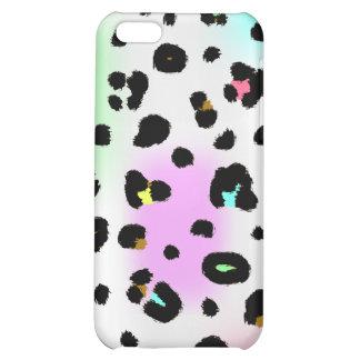 Neon Leopard  iPhone 5C Covers