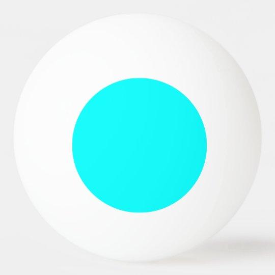 Neon light blue hex code 00ffff ping pong