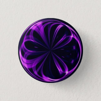 Neon Light Marble Button