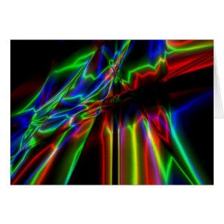 Neon Lightning Cards