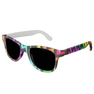 Neon Lightning Express Sunglasses