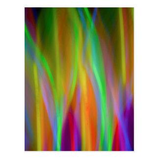 Neon Lights - blank card