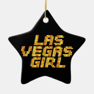 Neon Lights - Las Vegas Girl Christmas Ornament