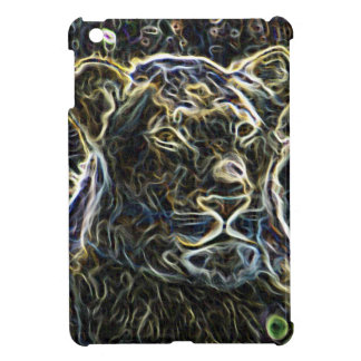 Neon Lion iPad Mini Covers