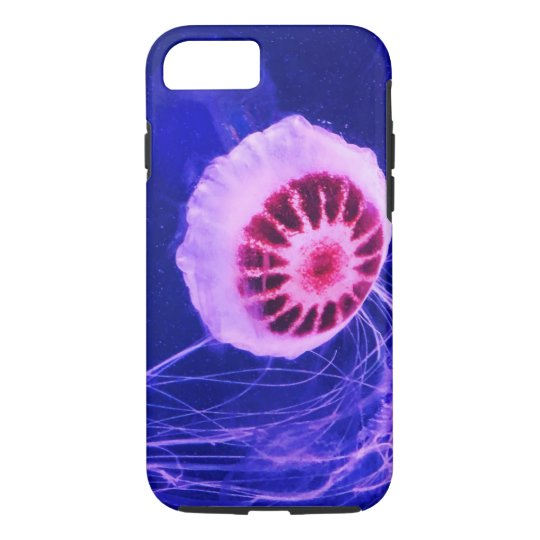 Neon Luminous Jellyfish iPhone 8/7 Case