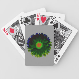 Neon Marigold Playing Cards