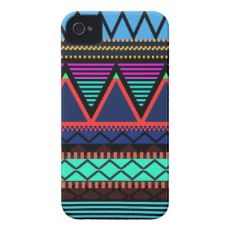 Neon Modern Tribal iPhone 4 Case-Mate Cases