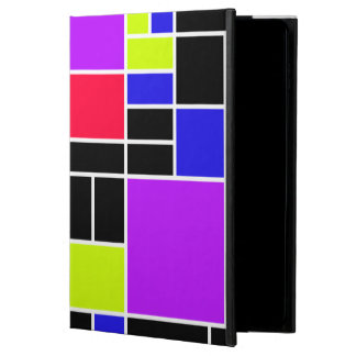 Neon Mondrian Powis iPad Air 2 Case