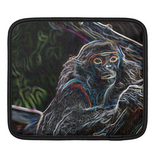 Neon Monkey iPad Sleeve
