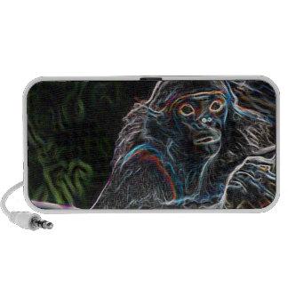 Neon Monkey Mini Speakers